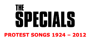 The Specials announce new album 'Protest Songs 1924-2012' & UK Tour