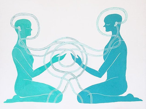 Meditation Connection - Print