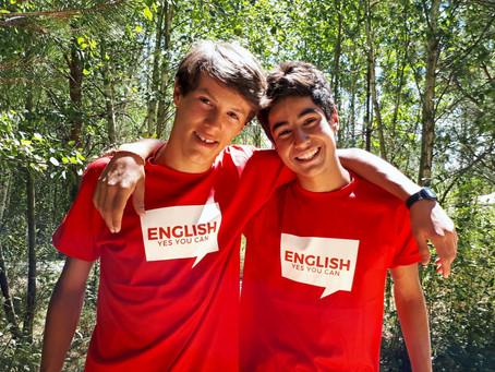10 Motivos por los que los campamentos en inglés son importantes.
