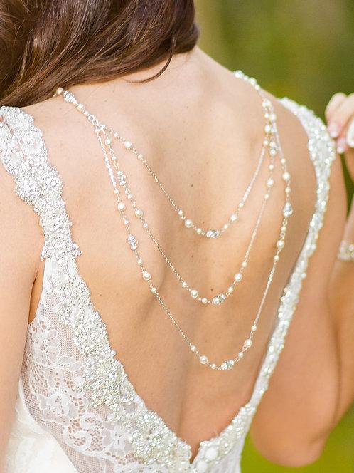 Ingrid Lariat Bridal Necklace