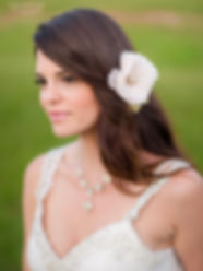 Everything Angelic Bridal Necklace and Hair Flower from Pink Beauty Bridal