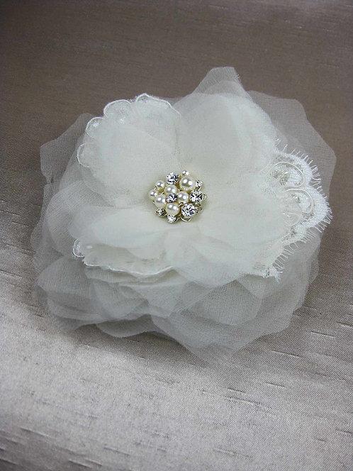 Ines Bridal Hair Flower