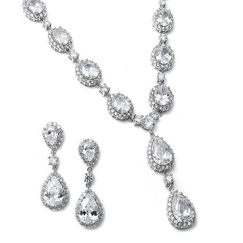 Hayworth Bridal Necklace & Earrings Set