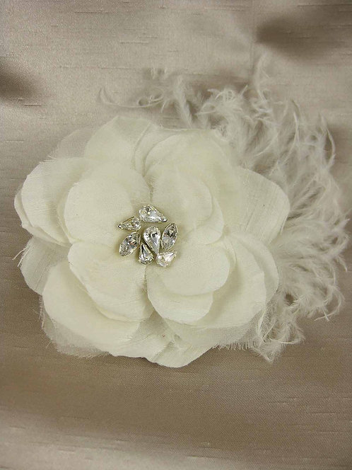 Jaclyn Bridal Hair Flower