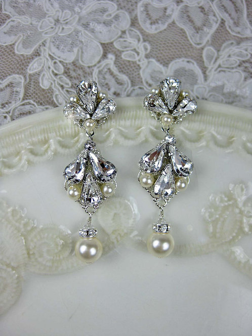 Abbey Bridal Earrings