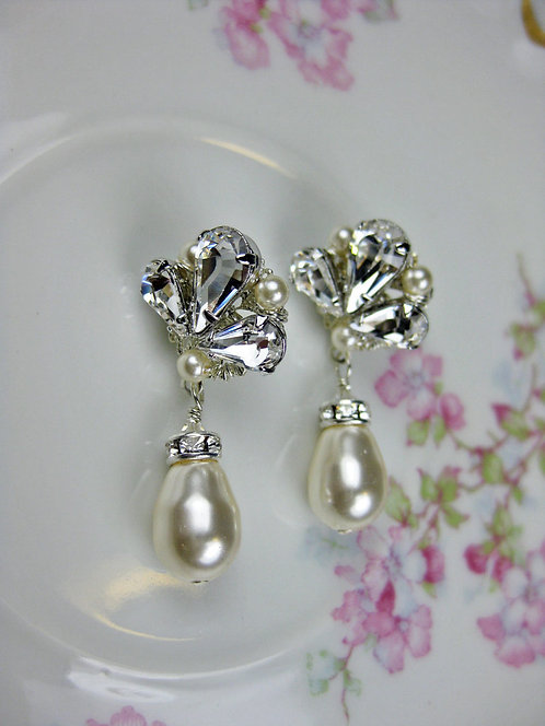 Carmen Small Bridal Earrings