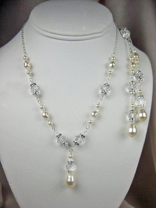Ingrid II Lariat Bridal Necklace