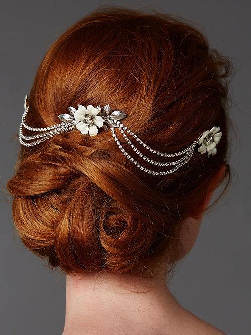 Feline Bridal Hair Swag