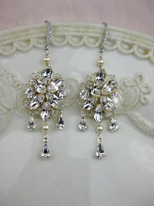 Blanca Bridal Earrings
