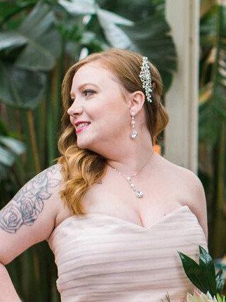 Le Fleur Bridal Hair Comb