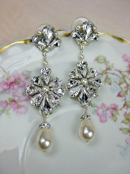 Carmen Bridal Earrings