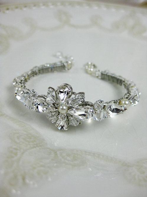 Ana Bridal Cuff Bracelet
