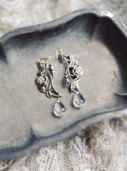 Rose Garden Earrings