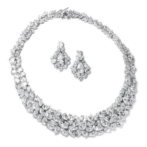 Loren Bridal Necklace & Earrings Set