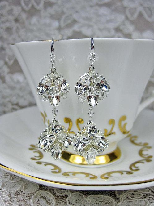 Chandra Bridal Earrings