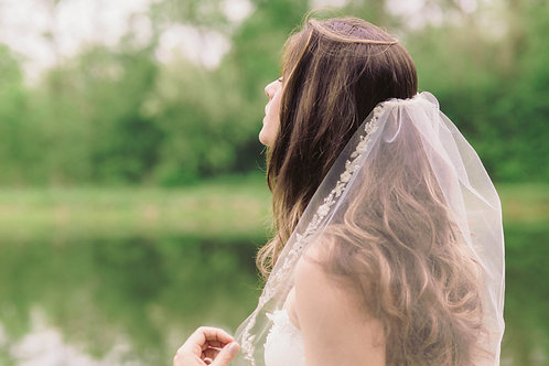 Floral Vine Wedding Veil