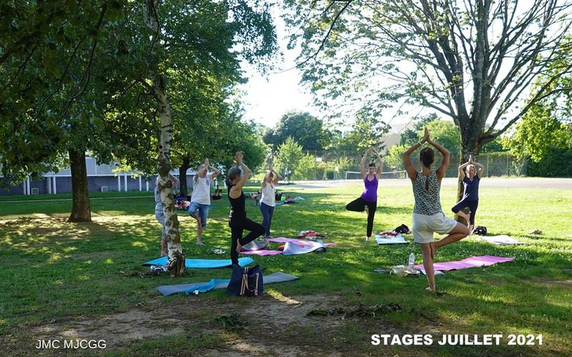Yoga stage 2021