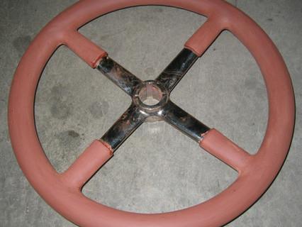 Ghost steering wheel
