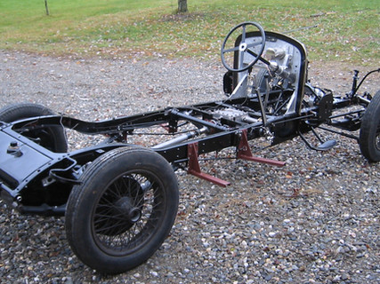 1930 Bentley 4.5L Chassis