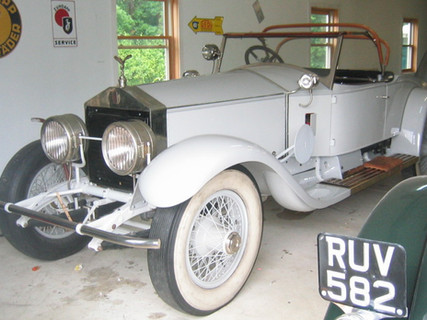 Springfield Silver Ghost Playboy Roadster