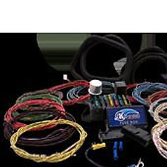 Retro Cloth Wrapped Wiring Harness 8 Fuse, 10 Circ