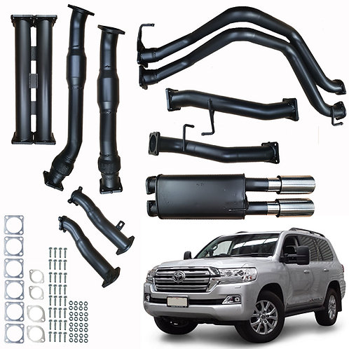 Toyota 200 Series Landcruiser 4.5L DPF Performance & Efficiency P