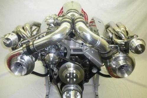 434ci Small Block Chev V8 Twin Turbo Street/Strip