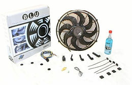 """10"""" 1019cfm Thermo Fan Kit Fixed Temp Switch,Harn"""