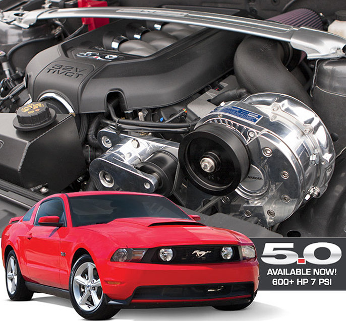2011 - 2014 Ford Mustang GT 5 0 4V Procharger Supercharger System |  braidwoodengines