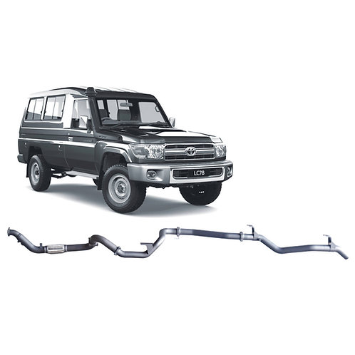 Toyota 78 Series Troop Carrier 4.5L Pre DPF Performance & Efficiency Package
