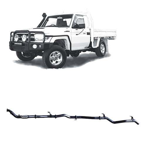 Toyota 79 Series Single Cab 4.5L Pre DPF Performance & Efficiency Package