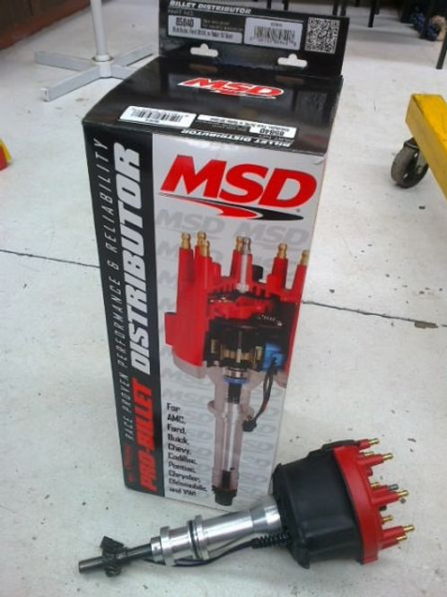 MSD Distributer 85840- 351 Windsor w/roller steel