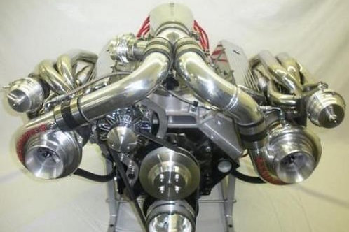 372ci Small Block Chev V8 Twin Turbo Street/Strip