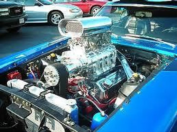 393ci 6/71 BLOWN Ford Complete V8 Street/Strip Str
