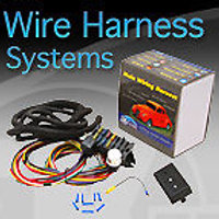 Deluxe Wiring Harness 12 Fuse NO IGN OR HEADLIGHT