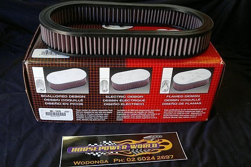 K&N Air filter Custom Series Replacement Only NO A