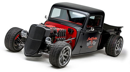 Barrett Jackson Special 35 Hot Rod Ute, Factory Five Australia