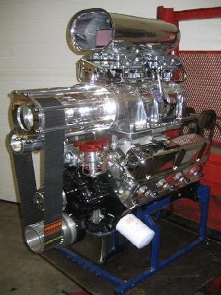 363ci 6/71 Blown Ford Windsor V8 Stroker Complete