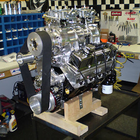 6/71 Blown/Supercharged 406 Chev Drag/Race Engine