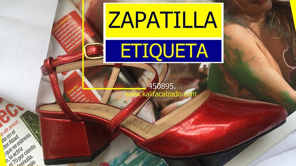 BUCA 4+895 ZAPATILLA ETIQUETA