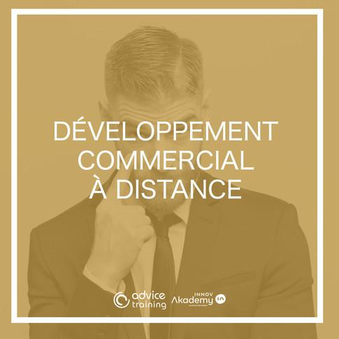 Développement commercial à distance