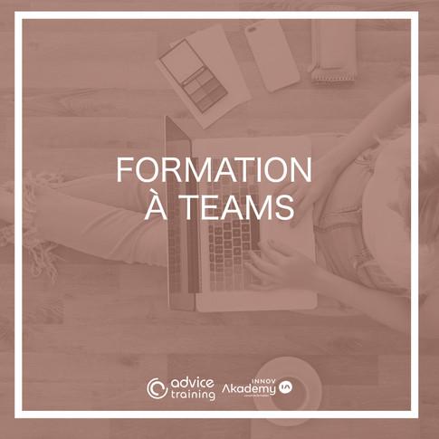 Formation à teams