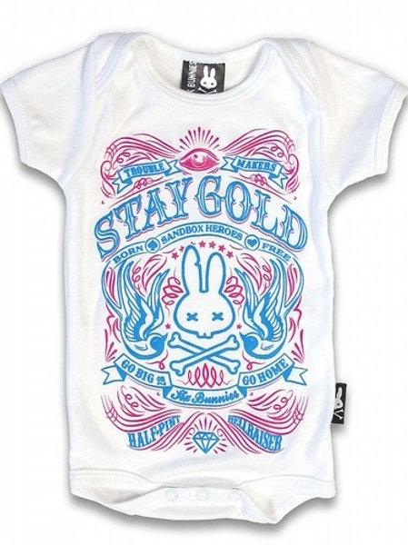 WHITE STAY GOLD| בגד גוף