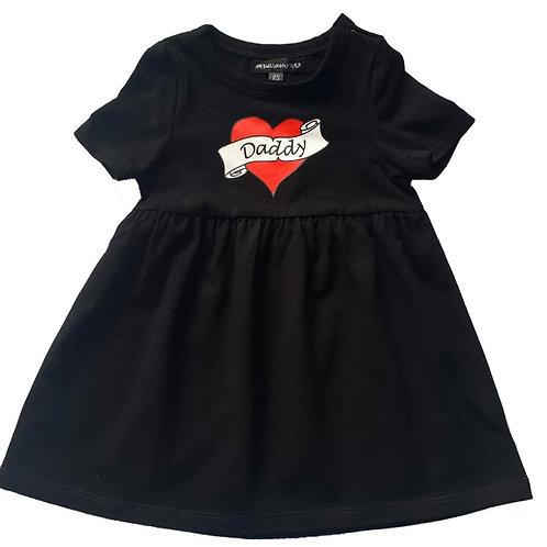 שמלה |DADDY TATTOO HEART