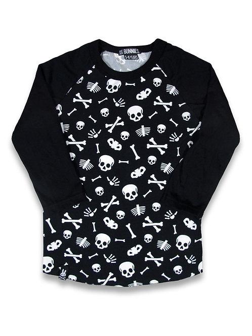 SKULLS  | חולצה ארוכה