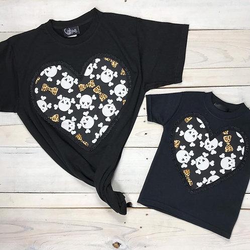 LEOPARD BONES ADULT | חולצת מבוגר
