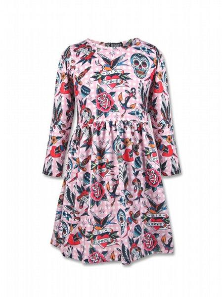 TATTOO SHOPEE LONG | שמלה