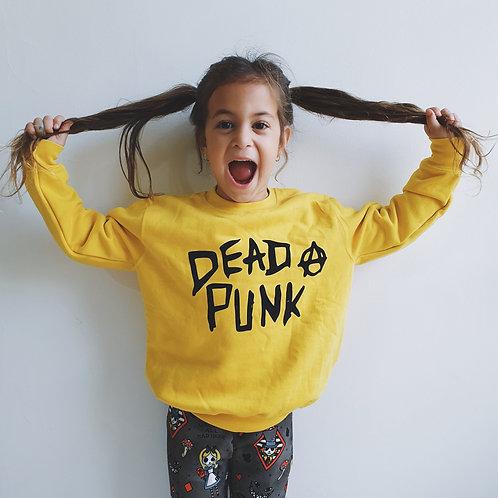 DEAD PUNK YELLOW JUMPER | פוטר