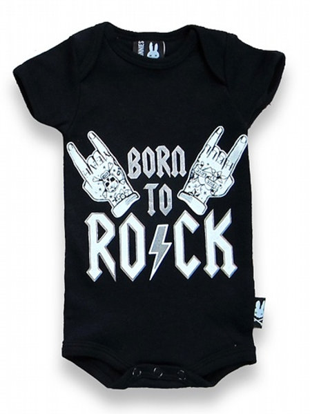 BORN TO ROCK| בגד גוף