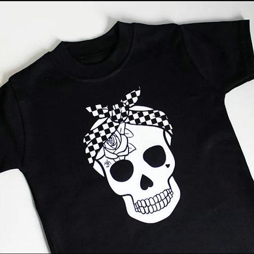 CHECKER ROSE | חולצת ילדה